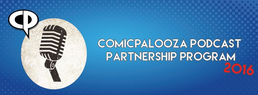 Comicpalooza Podcast Program 2016