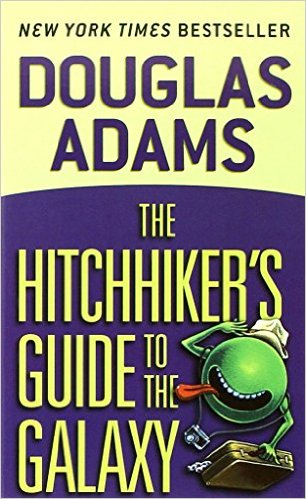Book Club: The Hitchhiker's Guide to the Galaxy
