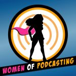 Women in Podcasting panel at Comicpalooza 2018