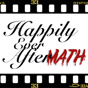 Logo for Happily Ever Aftermath podcast