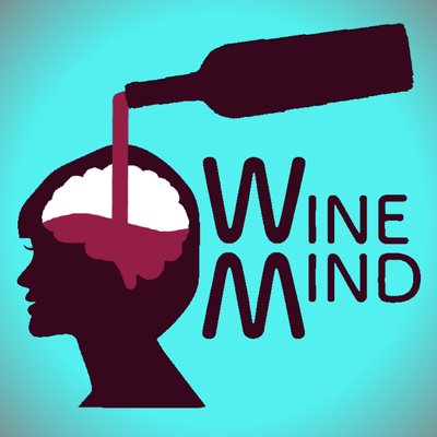 Logo for Wine Mind Podcast