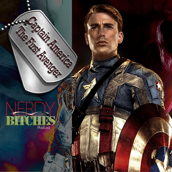 Nerdy Bitches artwork for Captain America