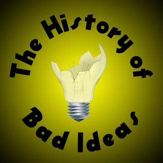 Logo for History of Bad Ideas Podcast