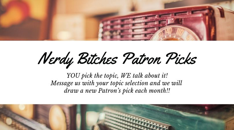 Nerdy Bitches Patreon logo