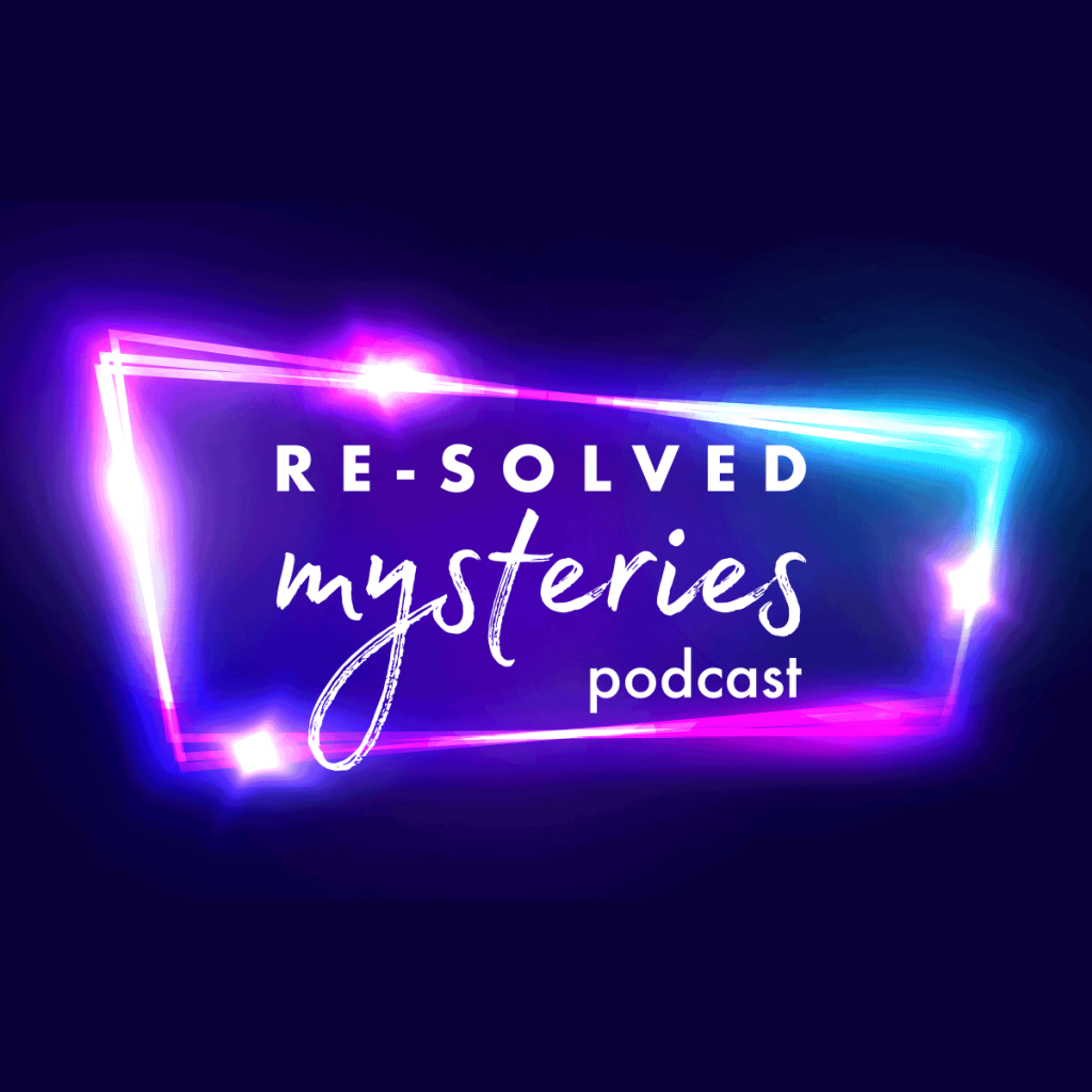 Logo for Re-solved Mysteries Podcast