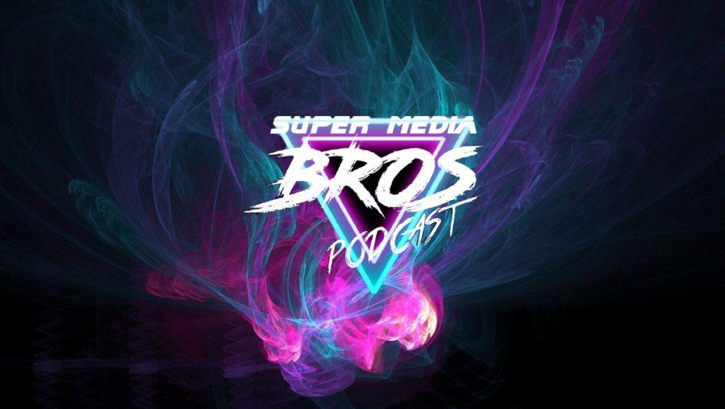 Logo for Super Media Bros Podcast