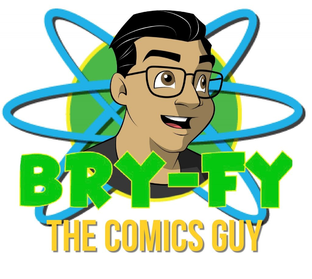 Neww logo for Bry-Fy the Comics Guy